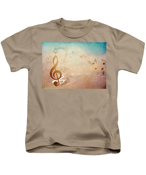 Please Dont Stop The Music Kids T-Shirt by Angelina Vick