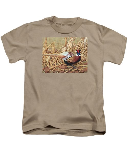 Ring-necked Pheasant Kids T-Shirt