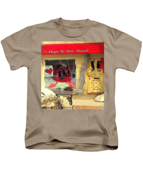 Rouge On The Rue Kids T-Shirt by Tami Quigley