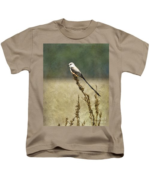 Scissortailed-flycatcher Kids T-Shirt