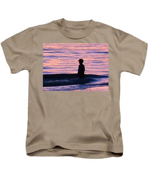 Sunset Art - Contemplation Kids T-Shirt
