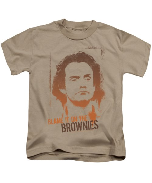 Taxi - Blame It On The Brownies Kids T-Shirt
