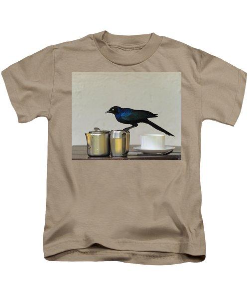 Tea Time In Kenya Kids T-Shirt