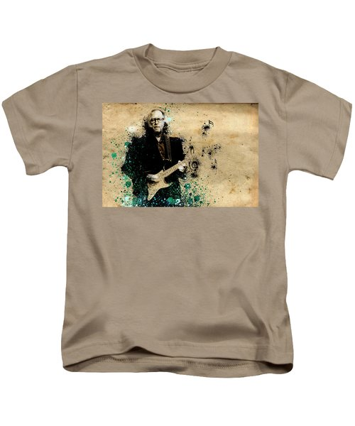 Tears In Heaven Kids T-Shirt by Bekim Art