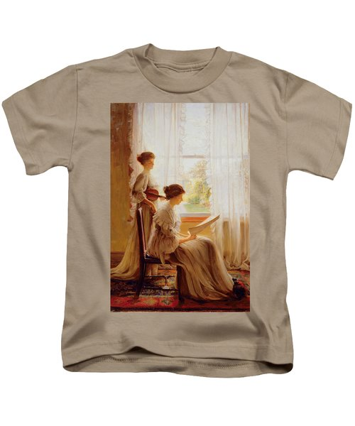 The Music Lesson, C.1890 Kids T-Shirt