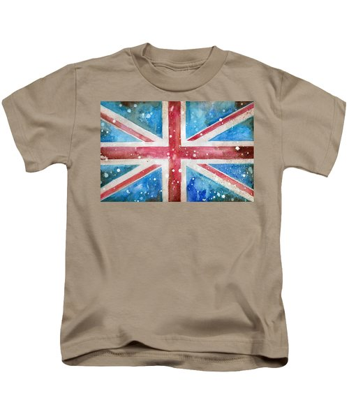 Union Jack Kids T-Shirt by Sean Parnell
