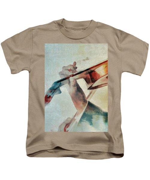 Violinist Kids T-Shirt