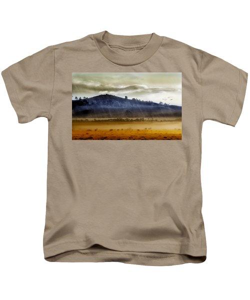 Whisps Of Velvet Rains... Kids T-Shirt