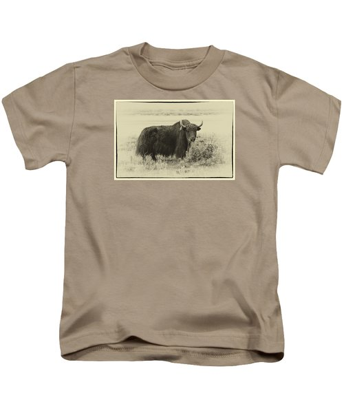 Yaks...the Official Animal Of Tibet Kids T-Shirt