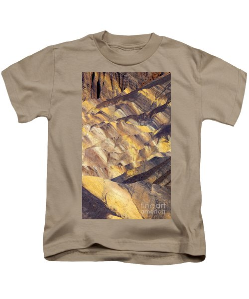 Zabriskie Color Kids T-Shirt by Mike  Dawson