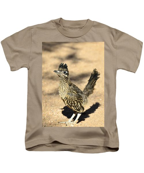 A Baby Roadrunner  Kids T-Shirt by Saija  Lehtonen