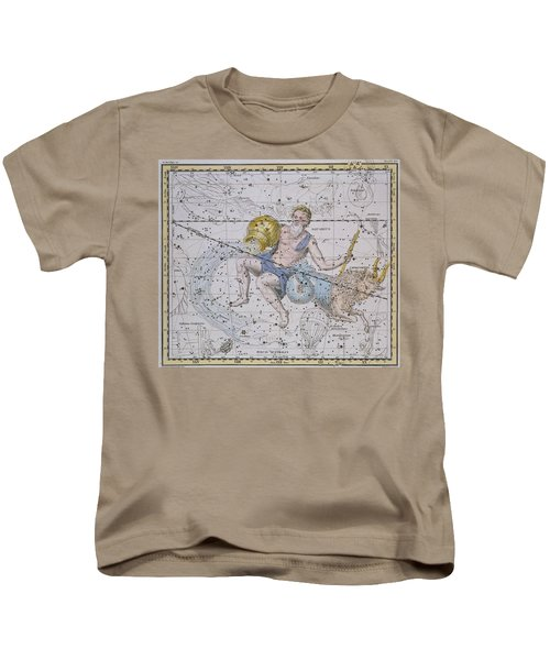 Aquarius And Capricorn Kids T-Shirt by A Jamieson