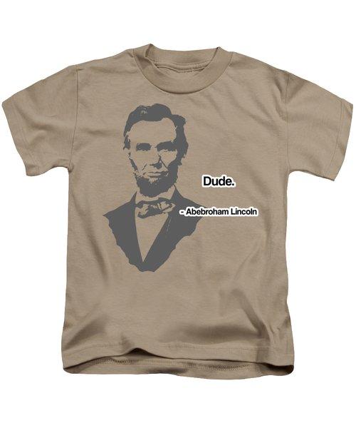 Abebroham Lincoln Kids T-Shirt