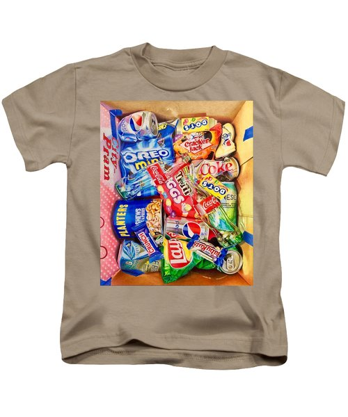 Dibs On The Baby Ruth Kids T-Shirt