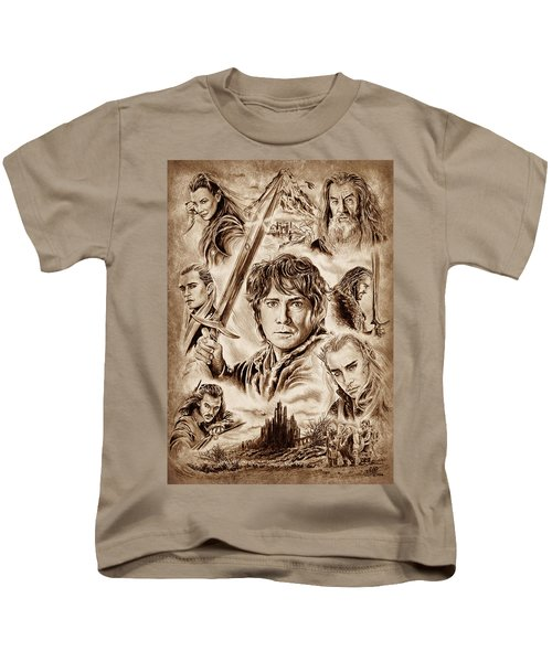 Middle Earth Kids T-Shirt