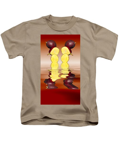 Fresh Ripe Mango Fruits Kids T-Shirt by David French