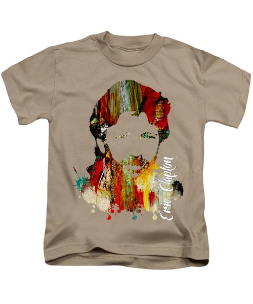 Eric Clapton Collection Kids T-Shirt