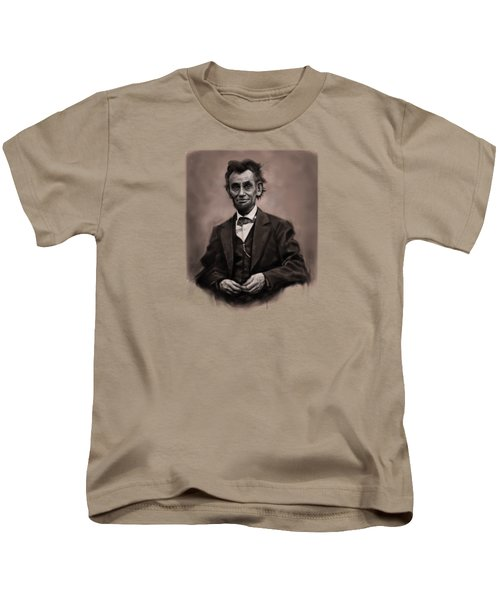 Abraham Lincoln Kids T-Shirt