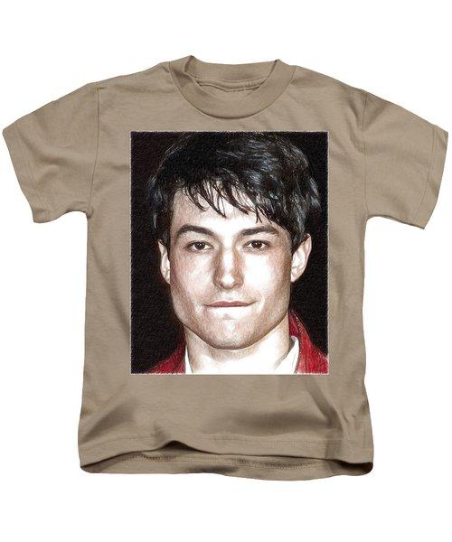 Actor And Musician Ezra Miller Kids T-Shirt
