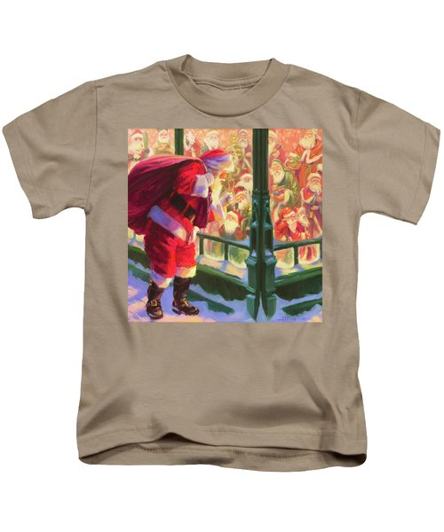 An Unforeseen Encounter Kids T-Shirt