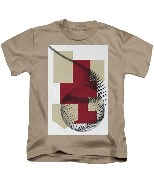 Arizona Diamondbacks Art Kids T-Shirt by Joe Hamilton