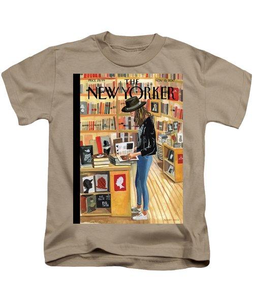 At The Strand Kids T-Shirt