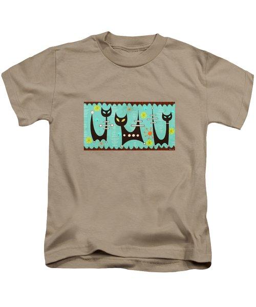 Atomic Cats Kids T-Shirt