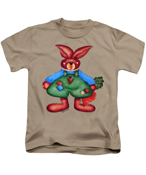 B Is 4bunny Kids T-Shirt by Tami Dalton