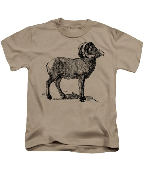 Bighorn Sheep  Kids T-Shirt