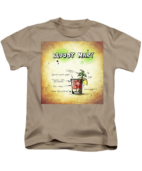 Bloody Mary Kids T-Shirt by Movie Poster Prints