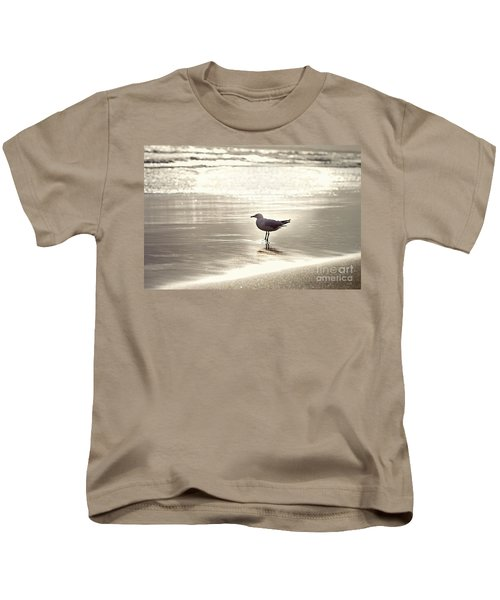 By The Sparkling Sea Kids T-Shirt