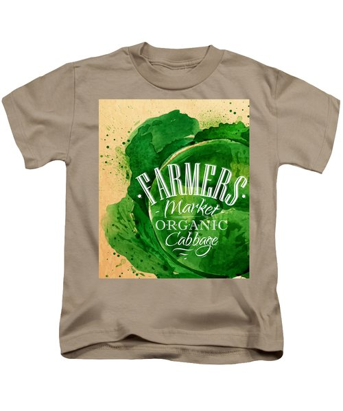 Cabbage Kids T-Shirt by Aloke Creative Store