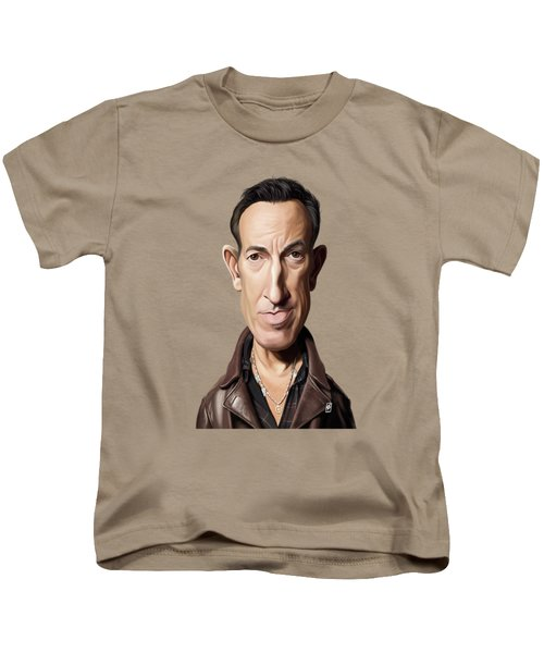 Celebrity Sunday - Bruce Springsteen Kids T-Shirt