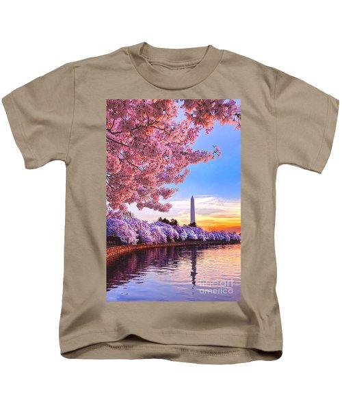 Cherry Blossom Festival  Kids T-Shirt
