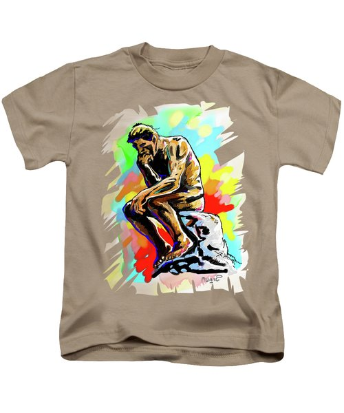 Colorful Thinker Kids T-Shirt