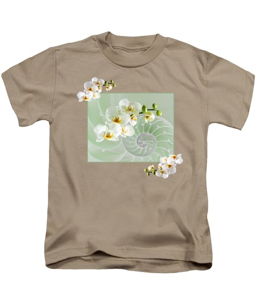 Cool Green Fusion Kids T-Shirt by Gill Billington