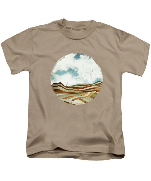 Desert Calm Kids T-Shirt by Spacefrog Designs