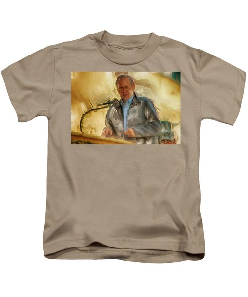 Donald Rumsfeld Kids T-Shirt by Brian Reaves