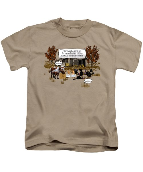 Eat More Turkey Kids T-Shirt