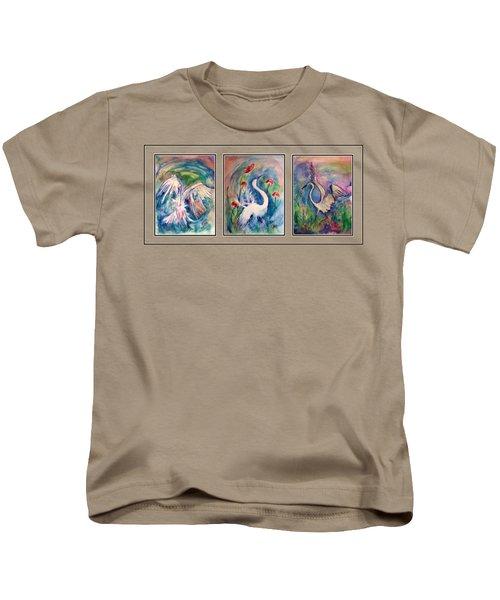Egret Series Kids T-Shirt