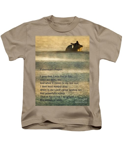 Fisherman's Prayer Kids T-Shirt