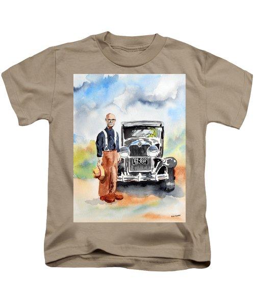 Grandpa's Chevy Kids T-Shirt
