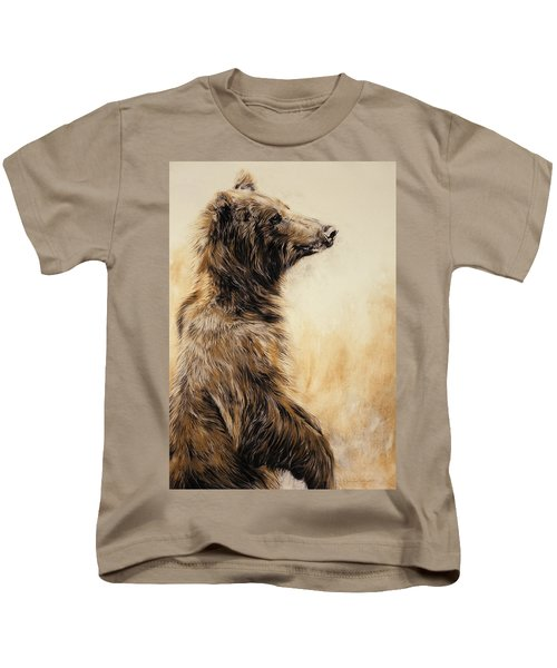 Grizzly Bear 2 Kids T-Shirt