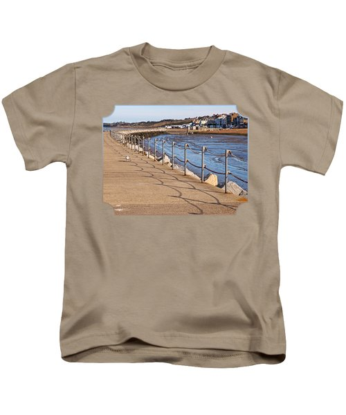 Harbour Wall Promenade Kids T-Shirt