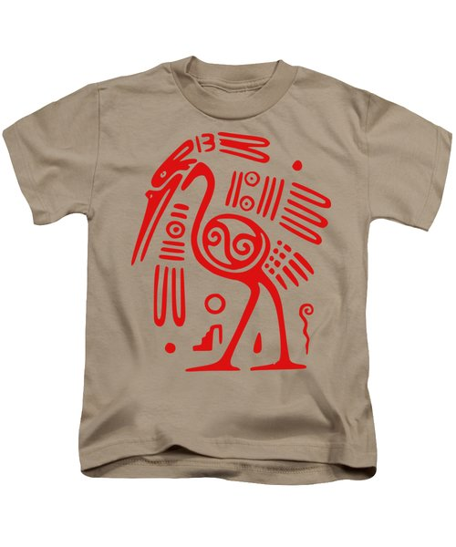 Ibis Kids T-Shirt by Frederick Holiday