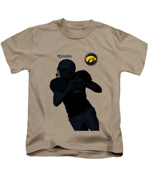 Iowa Football  Kids T-Shirt