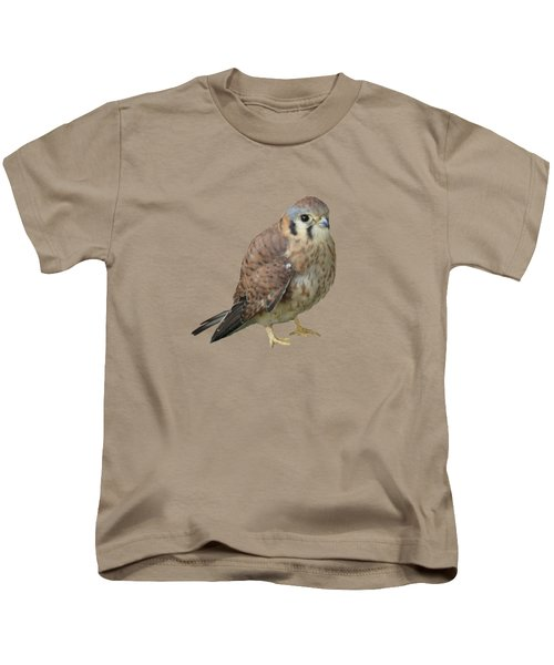 Kestrel Kids T-Shirt by Laurel Powell