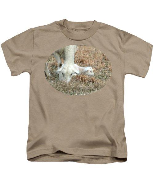 L Is For Lamb Kids T-Shirt