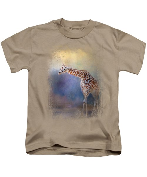 Let The Sun Shine In Kids T-Shirt by Jai Johnson