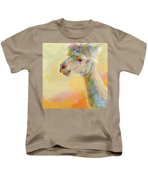 Lolly Llama Kids T-Shirt by Kimberly Santini